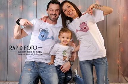 T-shirt di Famiglia