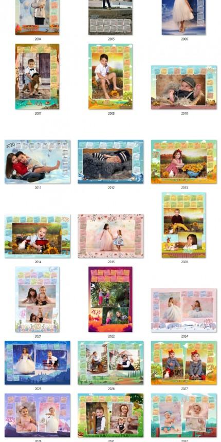 Calendari a 1pag 30×45