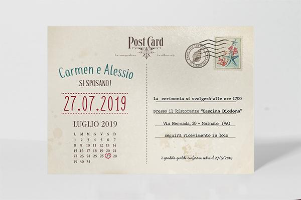 Partecipazione – Carmen e Alessio